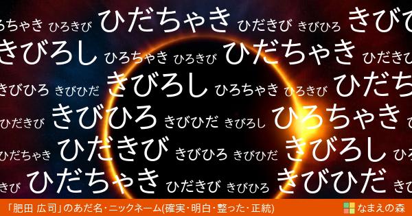 肥田 広司(ひだ ひろし)(男性)の「確実・明白・整った・正統」イメージ ...